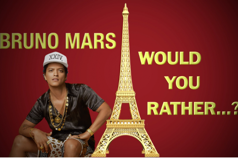 Bruno Mars - Would you rather?