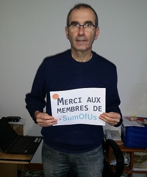 Director of Générations Futures says thank you to SumOfUs members