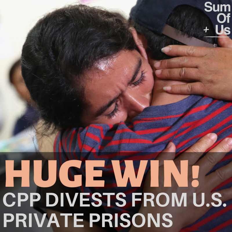 CPP divests from private prisons