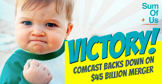 We stopped the Comcast merger!