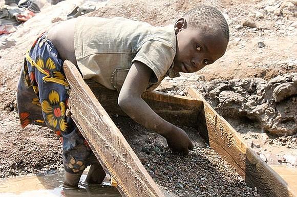 child labor in the D.R. Congo