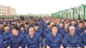 Uyghur concentration camp in China