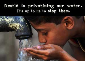 Nestlé is privatizing our water. It's up to us to stop them.
