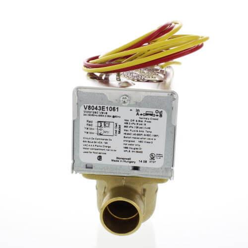 V8043E1061_Honeywell_ZoneValve01 v8043e1061 honeywell v8043e1061 3 4\