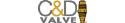C&D Valve brand logo