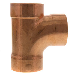Copper DWV Sanitary Tees