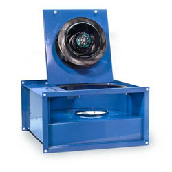 FRD Series Inline Rectangular Low Profile Centrifugal Fans