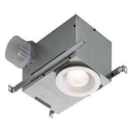 Recessed Ventilation Fans with Light