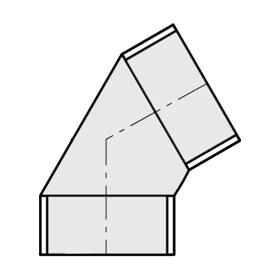 PVC Sch 40 60° Elbows
