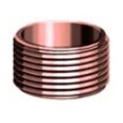 Copper DWV Flush Trap Adapter