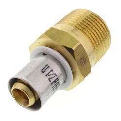 Multipress MLC Brass Press Male Adapters
