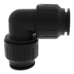 Black SpeedFit CTS Twist & Lock Fittings