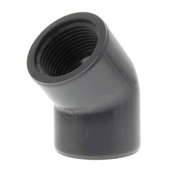 PVC Sch 80 45° Elbows (FPT)