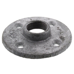 Galvanized Floor Flanges w/ Holes (Imported)