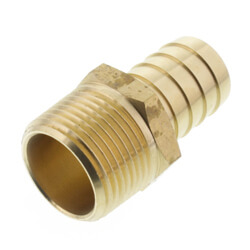 Brass Hose Barb Male Adapters
