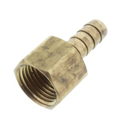 Brass Hose Barb Female Adapters