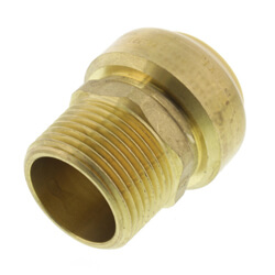 Bluefin Push-Fit Male Adapters