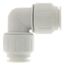 White CTS Twist & Lock Fittings
