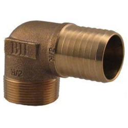 All Bronze and Brass Barbed Insert Fittings (Lead Free)