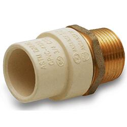 CPVC x Brass Male Adapters