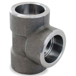 Carbon Steel Socket Weld Tees (3000 lb)