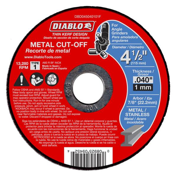 Cut-Off Saws & Discs