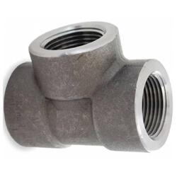 Carbon Steel Threaded Tees (3000 lb)