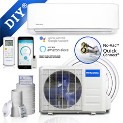 MR Cool DIY Ductless Mini Split Systems