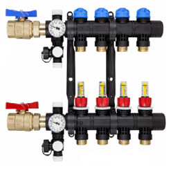 Mr. PEX Composite Radiant Manifolds