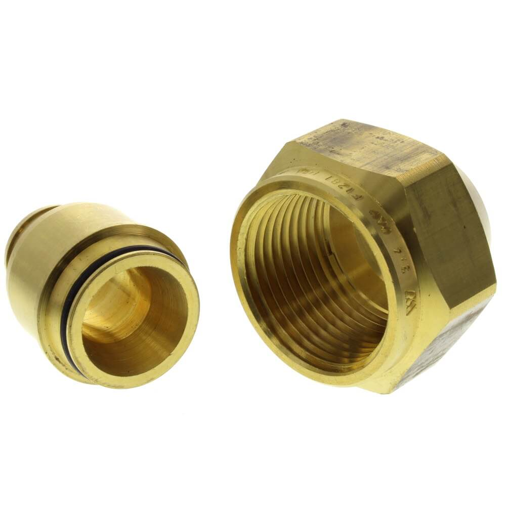 PEX-Al-PEX Compression Fitting Assemblies