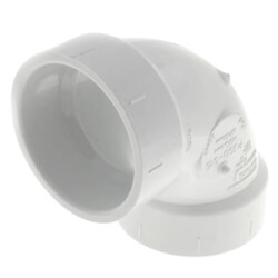 PVC DWV 90° Elbows