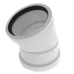 PVC SDR 35 1/16 Bend 22.5° Elbows (G x G)
