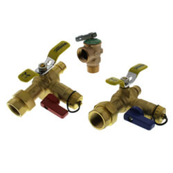 ProPEX Expansion Tankless Water Heater Isolation Valves