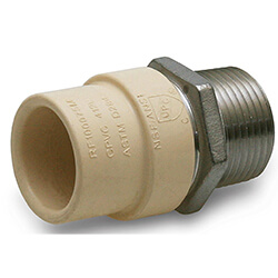 CPVC x Stainless Steel Male Adapters