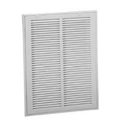 Steel Sidewall/Ceiling Return Air Filter Grilles, 1/2 Inch Spacing (673 Series)