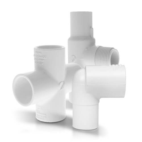 All PVC Schedule 40 Fittings