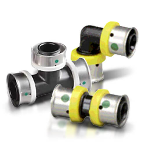 All PEX Press Polymer Fittings