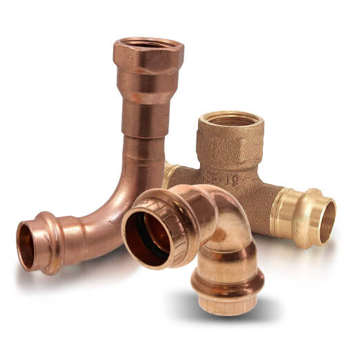 All Copper Press Fittings (Imported)