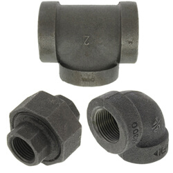 All Extra Heavy Black Fittings (300 lb)