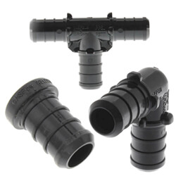 All Bluefin Poly PEX Crimp Fittings