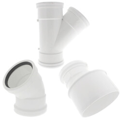 All PVC SDR 35 Gasketed Sewer Fittings