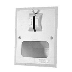 DWB Duo-Clozure Wall <br> Boxes with 2-M2 Washing <br> Machine Shutoff Valve Product Image