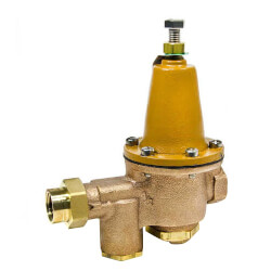 """1/2"""" LFU5B-LP-Z3 Lead Free Pressure Reducing Valve w/ Bypass Feature Product Image"""