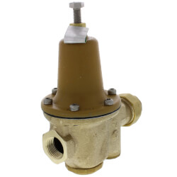 """3/4"""" LFU5B-Z3 Pressure Reducing Valve w/ Bypass Check Valve, Lead Free Product Image"""