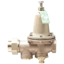 "1"" LF25AUB-Z3 Pressure Reducing Valve (Threaded F Union Inlet x NPT Threaded F Outlet) Product Image"