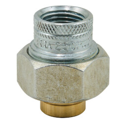 "3/4"" FIP x 1/2"" Solder LF3002 Dielectric Union, Lead Free Product Image"