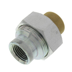 """1/2"""" LF3003 FxF Dielectric Union, Lead Free Product Image"""