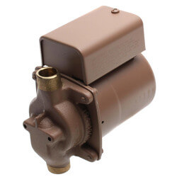 "003-BC4 Bronze Circulator (1/2"" Sweat) 1/40 HP Product Image"