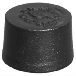 "2"" No Hub Cast Iron Blind Plug Product Image"