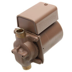 "006 (1/2"" Sweat) Taco Bronze Circulator, 1/40 HP Product Image"
